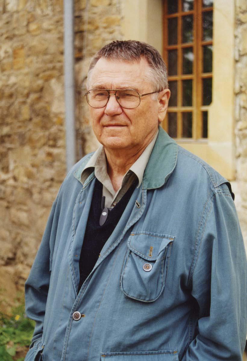 Zdzisław Beksiński w sanockim zamku