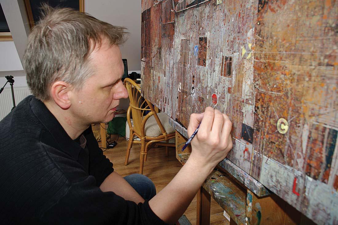 Artur Przebindowski obrazy, Przebindowski obrazy, Artur Przebindowski malarstwo