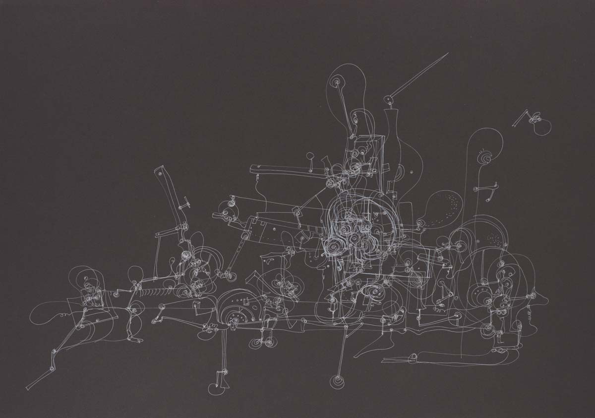 Maciej Świeszewski rysunek, obrazy, surrealizm