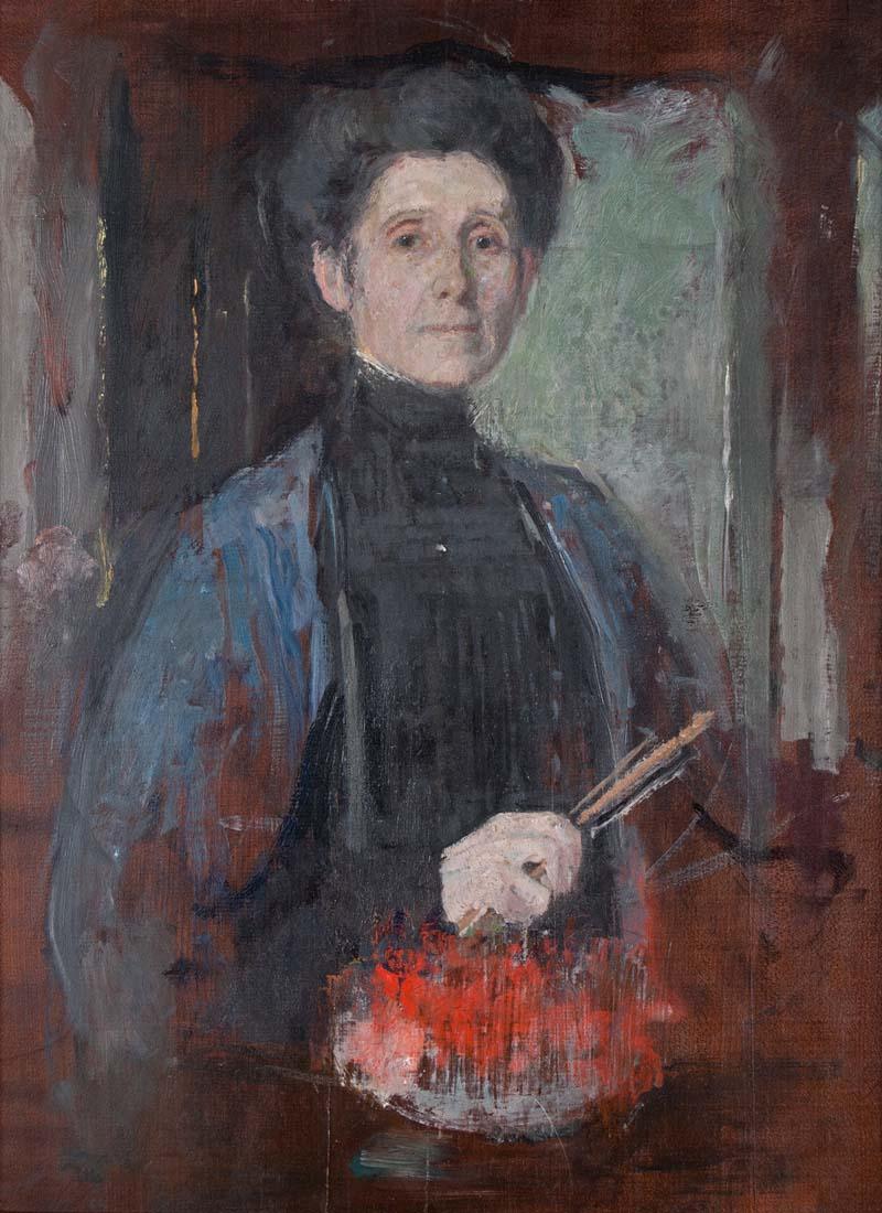 mistrzowie polskiego malarstwa i rzeźby na wystawie w lublinie wystawa, wystawa w lublinie, olga boznańska, olga boznańska w lublinie