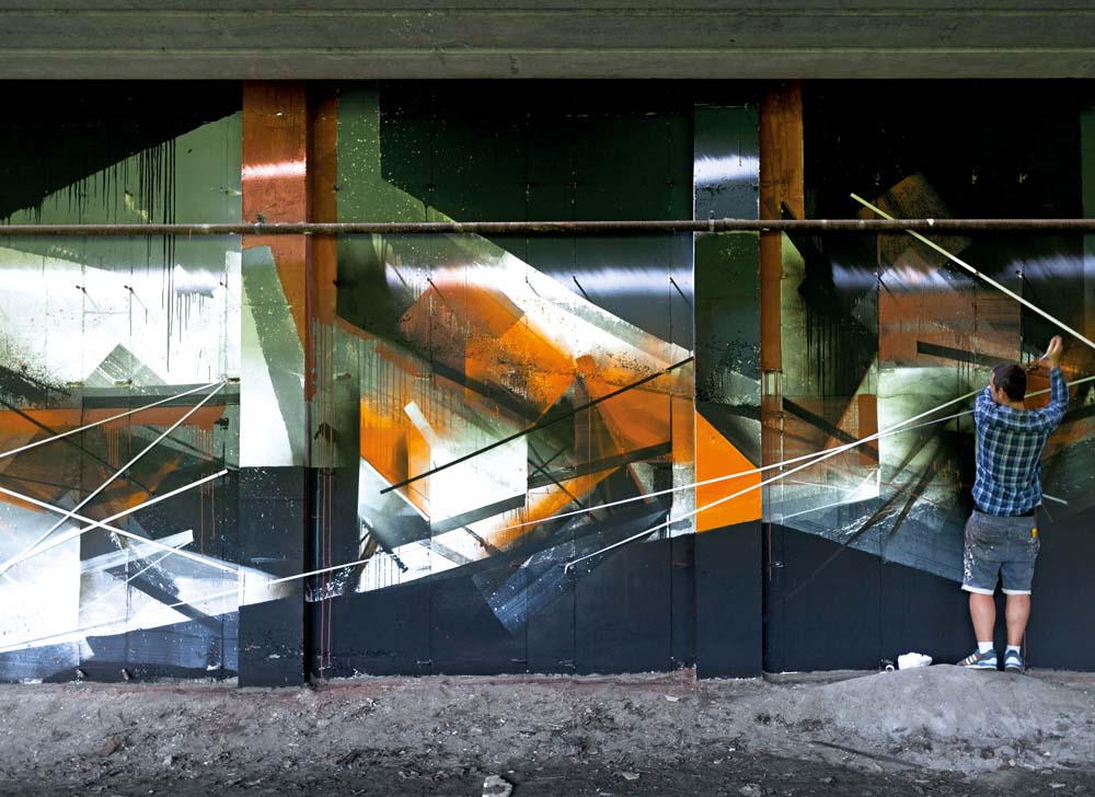 artosz Świątecki alias Pener street art,